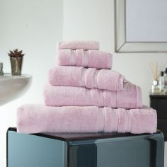 Hotel Quality Opulence 100% Cotton 800gsm Bathroom Towel - Peony Pink