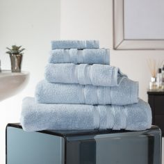 Hotel Quality Opulence 100% Cotton 800gsm Bathroom Towel - Azure Blue