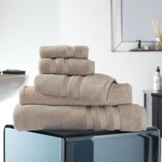Hotel Quality Opulence 100% Cotton 800gsm Bathroom Towel - Almond Brown