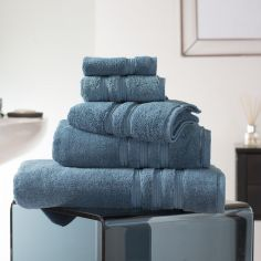 Hotel Quality Opulence 100% Cotton 800gsm Bathroom Towel - Petrol Blue