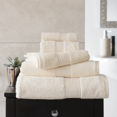 Bliss Pima 100% Cotton 650gsm Bathroom Towel - Vanilla Cream