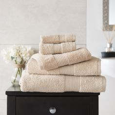 Bliss Pima 100% Cotton 650gsm Bathroom Towel - Biscuit Beige