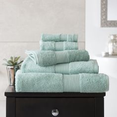 Bliss Pima 100% Cotton 650gsm Bathroom Towel - Spearmint Green