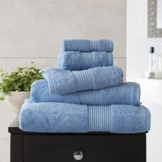 Bliss Pima 100% Cotton 650gsm Bathroom Towel - Cobalt Blue