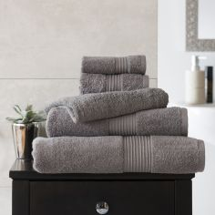 Bliss Pima 100% Cotton 650gsm Bathroom Towel - Slate Grey