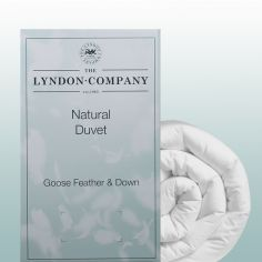 Luxury Goose Feather & Down Quilt - 10.5 TOG