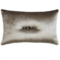 Kylie Minogue Turin Filled Boudoir Cushion - Praline Grey