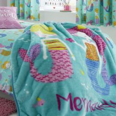 Catherine Lansfield Mermaid Throw - Multi