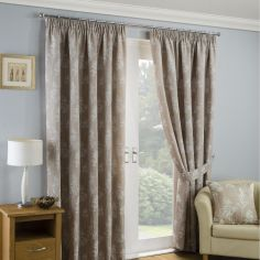 Arlington Tape Top Ready Made Curtains - Natural