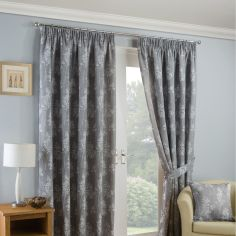 Arlington Tape Top Ready Made Curtains - Silver Grey