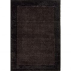 Ascot Plain Rug - Chocolate Brown