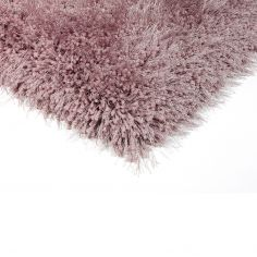 Cascade Table Tufted Plain Rug - Heather Pink