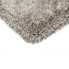 Cascade Table Tufted Plain Rug - Silver Grey