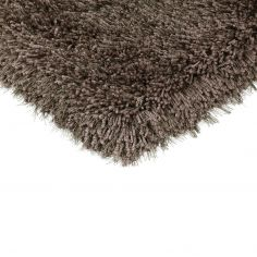 Cascade Table Tufted Plain Rug - Smoke Grey