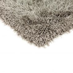 Cascade Circle Table Tufted Plain Rug - Taupe