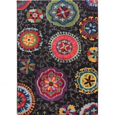 Colores Machine Woven Floral Rug - Multi 02