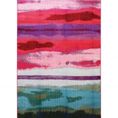 Colores Machine Woven Geometric Rug - Multi 06