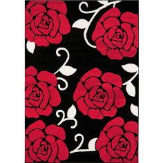 Couture Machine Woven Floral Rug - Multi 01