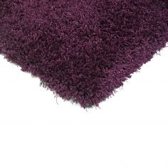 Diva Table Tufted Plain Rug - Purple