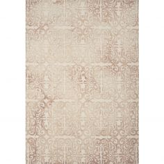 Fresco Hand Tufted Geometric Rug - Nude Natural