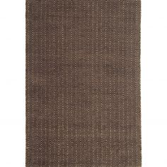 Ives Hand Woven Chenille Rug - Chocolate Brown