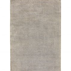 Ives Hand Woven Chenille Rug - Silver Grey