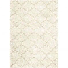 Logan Machine Woven Geometric Rug - Natural 09
