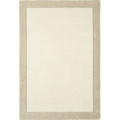 Moorland Hand Woven Plain Rug - Taupe