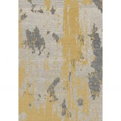 Nova Rug Machine Woven Plain Rug - Ochre Yellow 18
