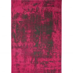 Revive Machine Made Plain Rug - Fushcia Pink 10