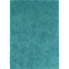 Tula Table Tufted Plain Rug - Blue