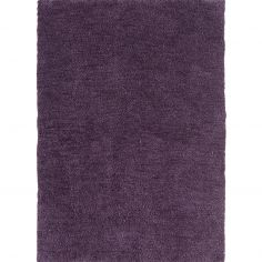 Tula Table Tufted Plain Rug - Grape Purple