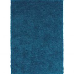 Tula Table Tufted Plain Rug - Dark Teal Blue