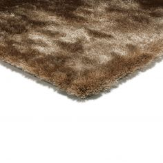 Whisper Table Tufted Plain Rug - Mocha Natural