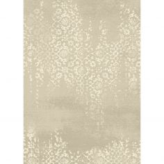 Xico Machine Woven Floral Rug - Grey Natural 04