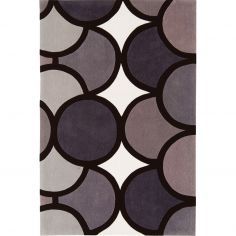 Harlequin Hand Tufted Geometric Rug - Natural Multi 005