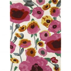 Matrix Hand Tufted Spots Rug - Pink Multi 30