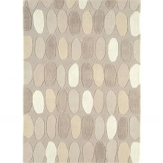 Matrix Hand Tufted Spots Rug - Natural Multi 31