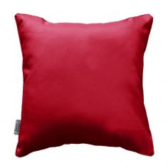 Essentiel Plain Cushion with Piping - Red