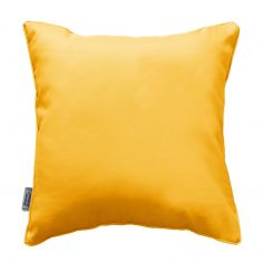 Essentiel Plain Cushion with Piping - Yellow