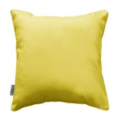 Essentiel Plain Cushion with Piping - Lime Green