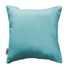 Essentiel Plain Cushion with Piping - Mint Blue
