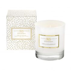 Sophie Conran Glass Wax Candle - Saffron & Sandalwood