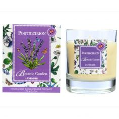 Botanic Garden Wax Filled Glass Boxed Candle - Lavender