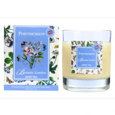 Botanic Garden Wax Filled Glass Boxed Candle - Sweet Pea