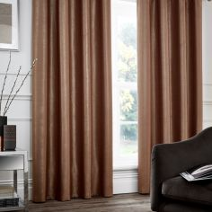 Catherine Lansfield Chelsea Tape Top Curtains - Natural