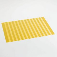 Garden Hemstitched PVC Placemat - Yellow