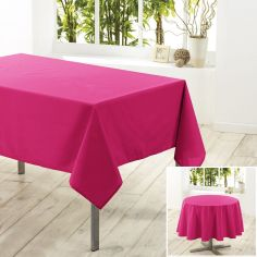 Essentiel Plain Tablecloth - Fuchsia Pink