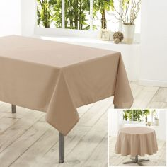 Essentiel Plain Tablecloth - Beige