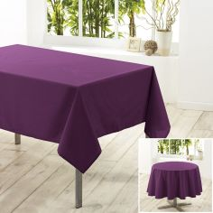 Essentiel Plain Tablecloth - Purple